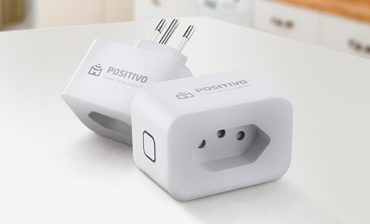 Smart Plug Wi-Fi Positivo Casa Inteligente
