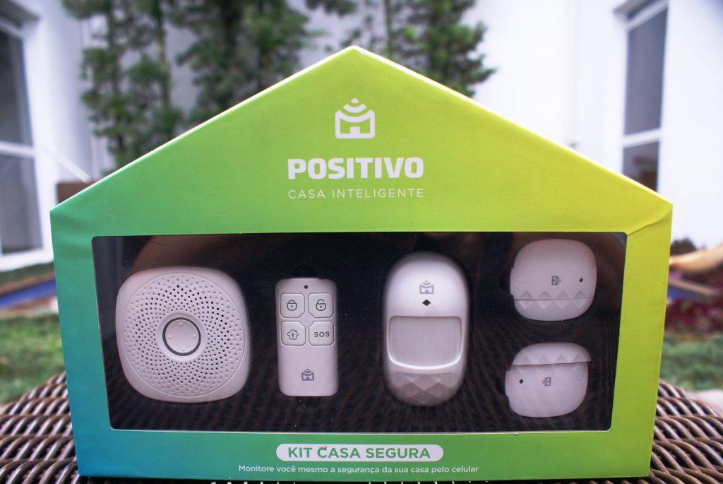 Kit Casa Segura da Positivo Casa Inteligente aumenta a segurança residencial nas férias